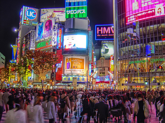 Shibuya, Tokyo. What's The Mission of the Church?