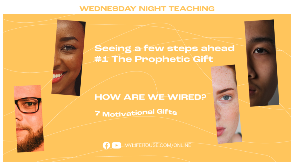 Motivational Gifts, The Prophetic Gift