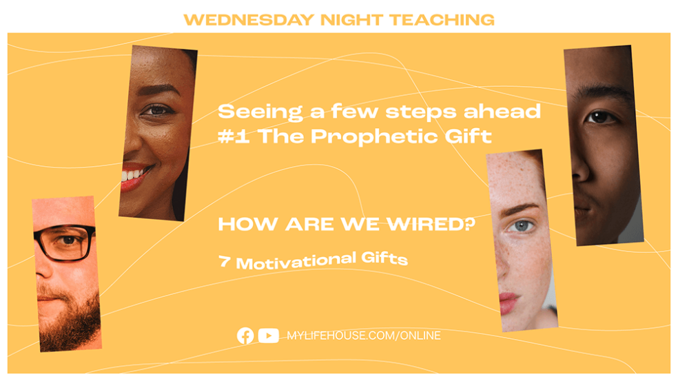 Seeing a few steps ahead #1 The Prophetic Gift