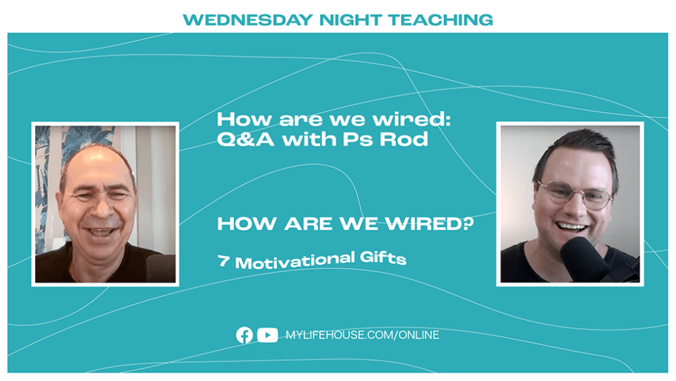 How are we wired? Q&A with Ps Rod Plummer